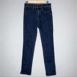 Rag & Bone High Rise Straight Medium Wash Jeans 26